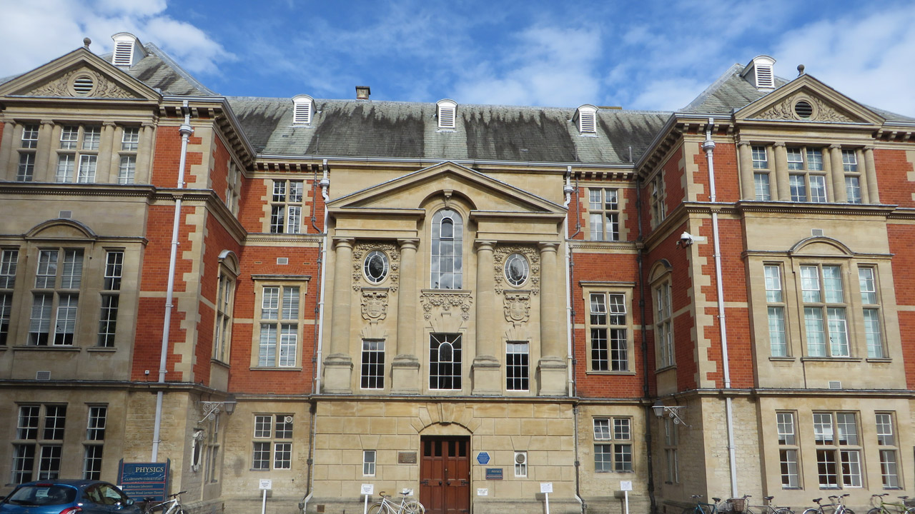 Clarendon Laboratory, Oxford